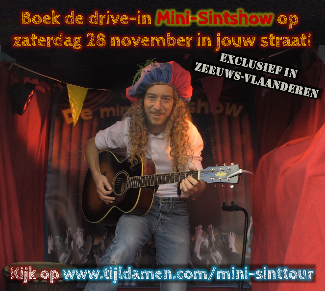 Drive-in Mini-Sintshow Tijl Damen