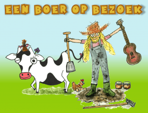 Een boer op bezoek, een mini-show / kindervoorstelling van Tijl Damen