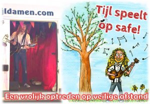 Tijl speelt op safe - Optredens op afstand voor mensen met een verstandelijke beperking